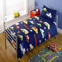 Transport Themed Toddler / Junior Bedding Bundle 9.0 Tog 120 x 150 cm