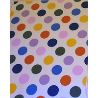 Multi Coloured Polka Dot Rug - 100 x 150 cm