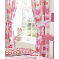 Lace Hearts Curtains 72s