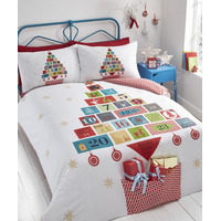 Advent, Christmas Themed King Size Bedding