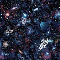 Intergalactic Space Wallpaper