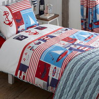 Maritime, Embroidered Nautical King Size Bedding