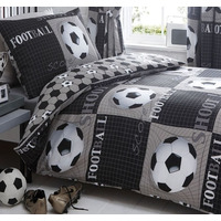 Shoot, Football Bedding - Single Duvet