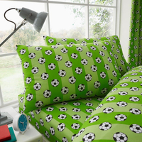 Footballer, Single Fitted Sheet and Pillowcase