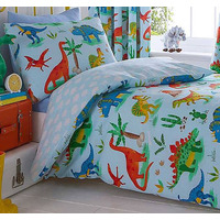 Dinosaur World Single Bedding
