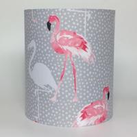 Flamingo, Medium Fabric Light Shade
