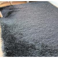 Dazzle, Charcoal Grey Rug, 80 x 150 cm