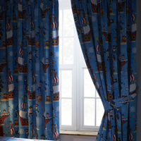 Sea Pirates Blackout Curtains 72s