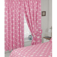 White Star, Pink Curtains 72s