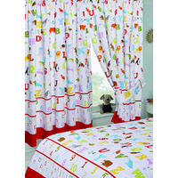 ABC, Alphabet Nursery Curtains 72s