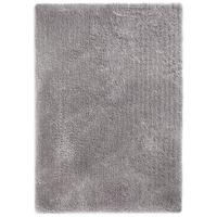 Softness, Silver Grey Shaggy Rug - 60 x 120 cm