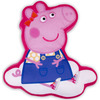 Peppa Pig Shaped Cushion - Hooray