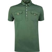 Galvin Green EDGE Golf Shirt - Colonel - Green 2019