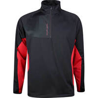 Galvin Green Golf Jacket - Lincoln Interface-1 - Black - Red AW19