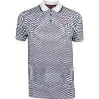 Ted Baker Golf Shirt - Hazelnt Geo Polo - Navy SS19