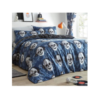 Pixel Skulls. Kids Single Bedding