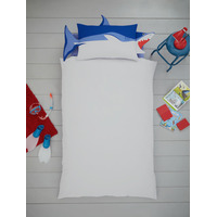 Shark Shaped Single Bedding