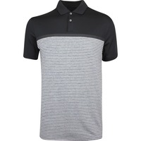Nike Golf Shirt - TW Vapor Stripe - Black SS19