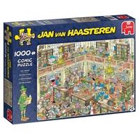 Jumbo 19092 Jan Van Haasteren - The Library 1000 Piece Jigsaw Puzzle