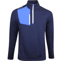 RLX Golf Pullover - Thermal Tech Sweater - French Navy AW19