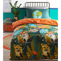 Endangered Animals, Childrens Single Bed Set