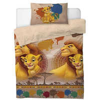 Lion King Single Duvet - Simba and Mufasa