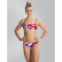 Speedo Flipturns Two Piece Crossback Swimsuit