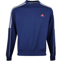 adidas Golf Jumper - Collection Ø Dobby Crew Neck - Tech Indigo SS20