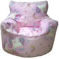 Girls Unicorn Bean Chair