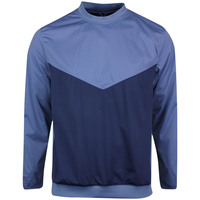 Nike Golf Pullover - NK Shield Victory Crew - Diffused Blue SS20