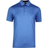 adidas Golf Shirt - Ultimate BOS Polo - Trace Royal SS20