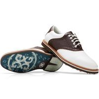 G/FORE Golf Shoes - Saddle Gallivanter - Snow - Espresso 2020