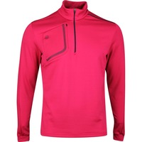 Galvin Green Golf Pullover - Dwight Insula - Barberry SS20