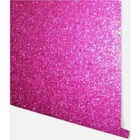 Sequin Sparkle Wallpaper - Hot Pink