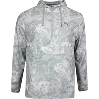 PUMA Golf Jacket - TournAMENt Wind Hoodie - Quarry Print LE SS20