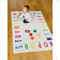Alphabet Rug 100 x 150 cm