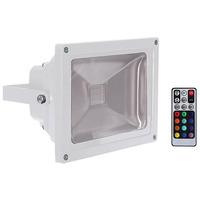 RGB LED Floodlight with Wireless Remote Control 30 Watt