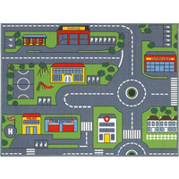 Road Map Play Mat 100 x 133 cm