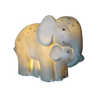 Elephant Night Light - Mother and Baby