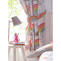 Clouds and Rainbows Curtains