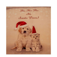 Santa Paws Christmas Single Duvet