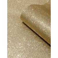 Catherine Lansfield Glitter Texture Gold Wallpaper