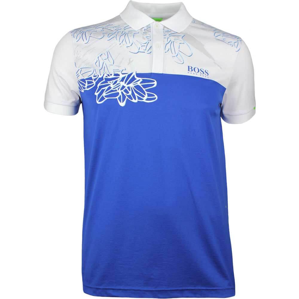 6cfaefd4 BOSS Hugo Boss Golf Shirt - Paddy MK 1 - True Blue SP18