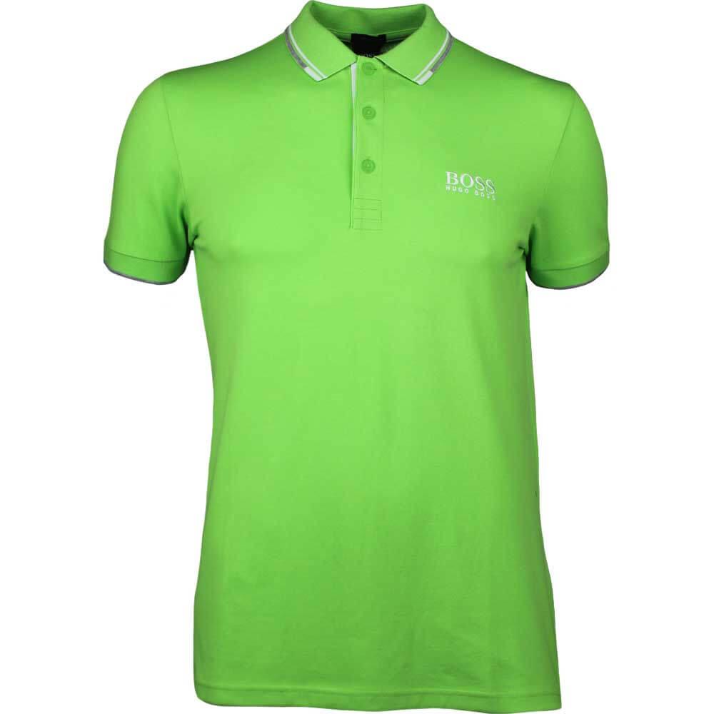 307d984a BOSS Hugo Boss Golf Shirt - Paddy Pro - Green Flash SP18