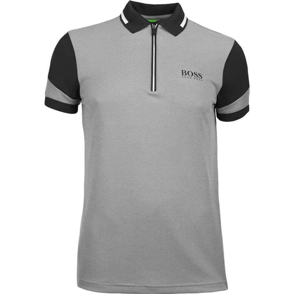 87c09f0b BOSS Hugo Boss Golf Shirt - Prek Pro - Black SP18
