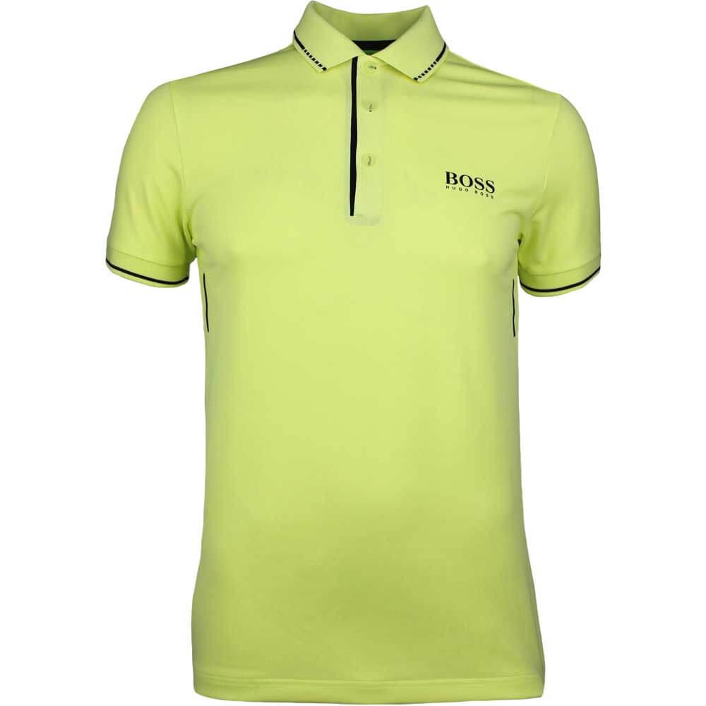 1f632b44 BOSS Hugo Boss Golf Shirt - Paule MK 1 - Sunny Lime SP18