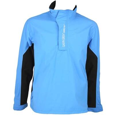 Galvin Green Angus Waterproof Golf Jacket Summer Sky Black