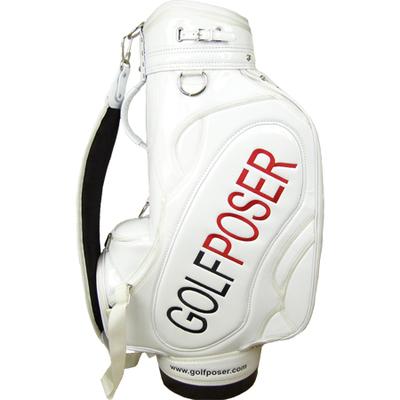 Golfposer Pro Tour Bag White