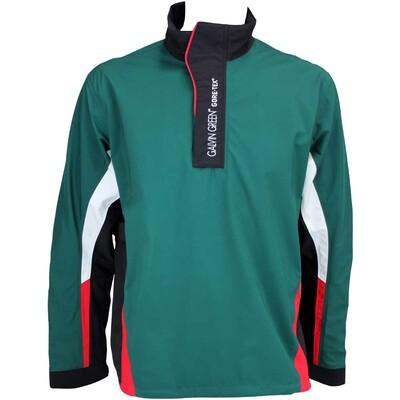 Galvin Green Albin Waterproof Golf Jacket Racing Green Black