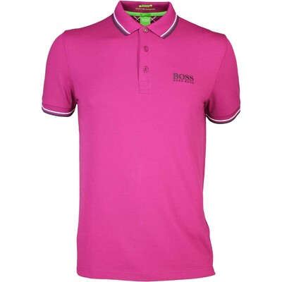 Hugo Boss Paddy Pro Golf Shirt Raspberry Radiance PS16